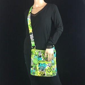 Vera Bradley 'Lime's Up' Pattern Crossbody Bag